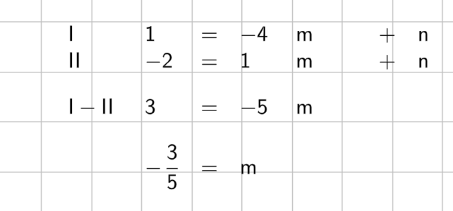Ü Geradengleichung ermitteln (Ma 8)