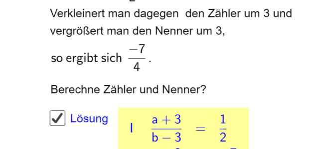 Ü Aufstellen linearer Gleichungssysteme (Ma 8)